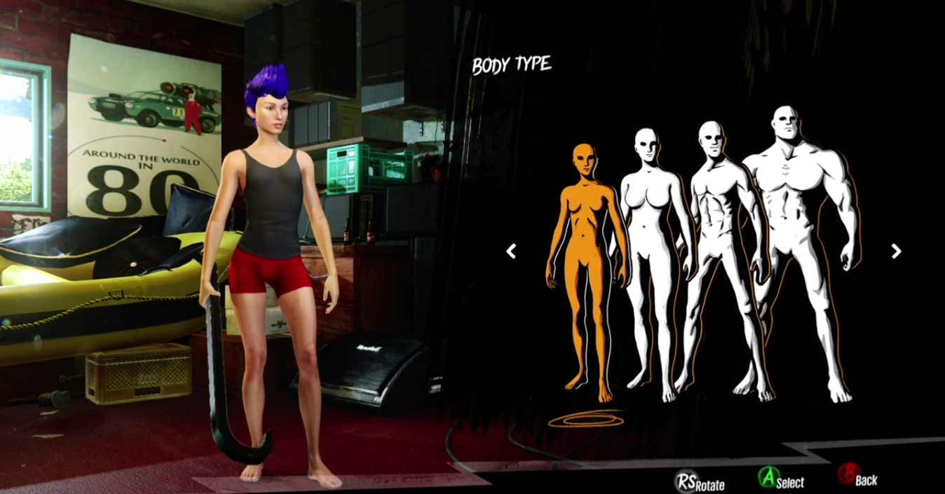 Doing It Right: Character Customization in Sunset Overdrive