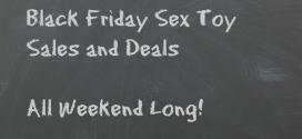 Black Friday Sex Toy Sales